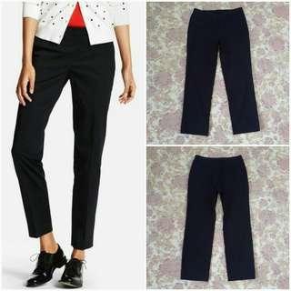 UNIQLO Smart Style Ankle Length Pants (Black L)