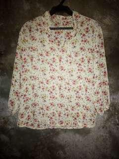 Casual Floral Blouse