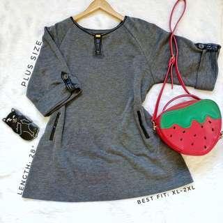 516 || Plus Size Blouse / Mini Dress