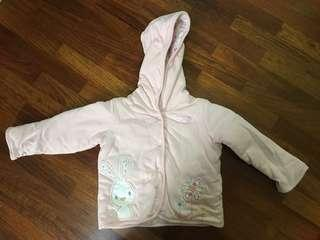 BN Marks and Spencer's Baby girl hoodie (6-9mos)