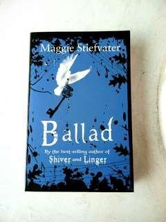 Ballad by Maggie Stiefvater YA English Novels #SUBANGJAYASWAP #SBUX50 #POST1111
