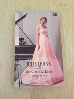 The Sum of All Kisses by Julia Quinn (novel terjemahan) FREE 1 NOVEL RANDOM!