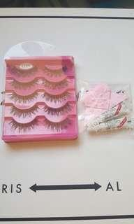 Handmade false eyelashes