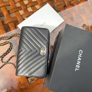 MINT Chanel statement bag