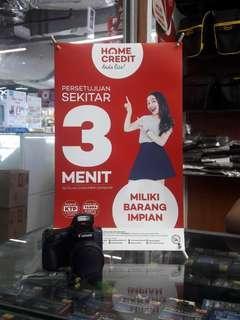 Yuk Cicil Hemat Camera Promo Bunga 0% tenor 6 bulan