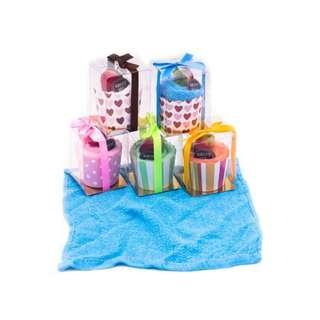 Cupcake Hand Towel