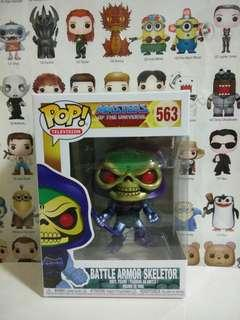 🚚 Funko Pop Metallic Battle Armor Skeletor Exclusive Vinyl Figure Collectible Toy Gift Masters Of The Universe MOTU Cartoon Animation
