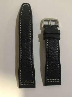 Rios typhoon 21mm leather watch band iwc,ball watch