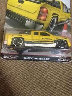 New and Original Hot Wheels Trucks Chevy Silverado