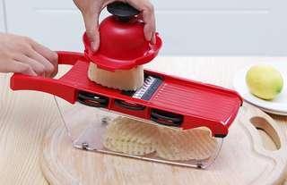 QuickDone Creative Mandoline Slicer Vegetable Cutter with St