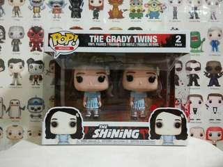 🚚 Funko Pop The Grady Twins Bloody Exclusive Vinyl Figure Collectible Toy Gift Movie Shining Horror