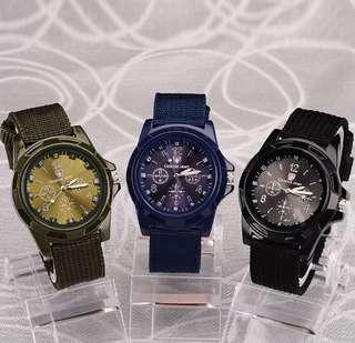 Unisex Nylon Sports Watch with Box