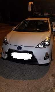 租車TOYOTA PRIUS 1.5 2012