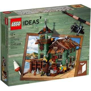 Leeogel Lego 21310 Ideas Old Fishing Store Fish - New In Sealed Box
