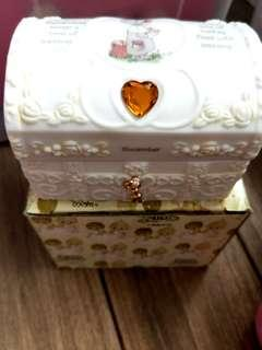 Precious Moment Ceramic Chest Box