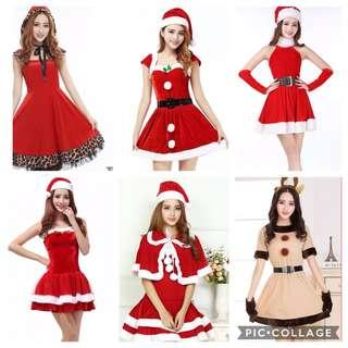 IN STOCK Santarina dress Christmas dress Santarina Costume Santa Dress Christmas Costume Santa Claus Costume Santarina Dress festive dress Christmas outfit dress Christmas party dress