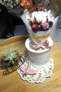 🚚 乾燥花束/粉色B