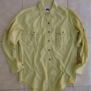 Kemeja Gunung The North Face Lapangan TNF Long Sleeve Shirt