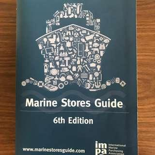 IMPA MARINE STORES GUIDE (6TH EDITION)