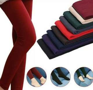 YRRETY Heating Women Winter Thick Pants Velvet High Waist Knitted Female Pluse Size Stretch Soft Hosiery Sexy Girls Warm Legging