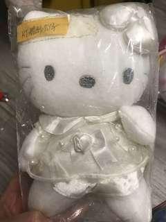 Hello Kitty 穿婚紗公仔絕版