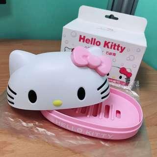 🚚 全新💡Hello Kitty 肥皂盒 共兩個 $30/個