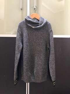 Pre loved Zara Boy grey sweater size 7