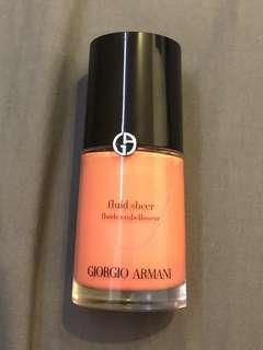 Authentic Giorgio Armani Fluid Sheer in 5