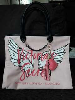 Limited Edition VS Tote Bag with keychain