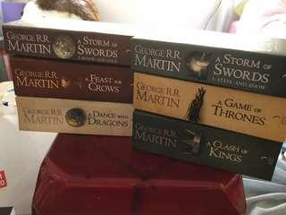 🔆Price lowered! Game of Thrones complete set