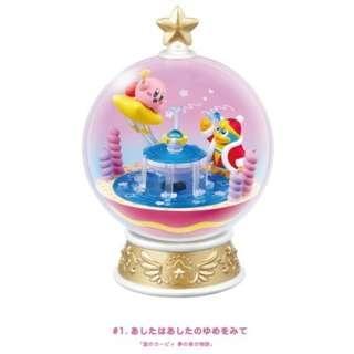 Re-ment 日本食玩 Kirby's Kirby Terrarium Collection DX #1 星之卡比水晶球系列 DX #1 全套2款 (全新未拆) Rement