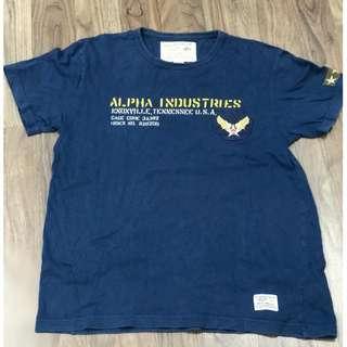 Alpha Industries T-Shirt Size M & L
