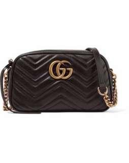 Gucci GG Marmont small leather bag (4 color)