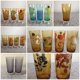 Aderia Footed Glasses ⏬ Refer to previous listing