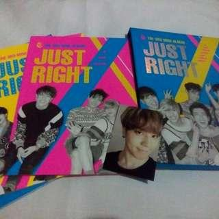 got7 - just right (with yugyeon pc)