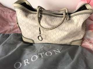🔆PROCE LOWERED Oroton ivory tote bag
