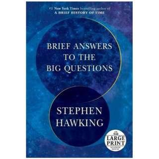 [Ebook] Brief Answers to the Big Questions by Stephen Hawking