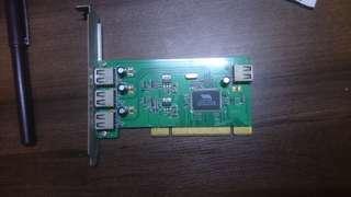 🚚 PCI USB2.0擴充模組