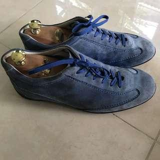 Tods Blue Suede Shoes/ Sneakers Size 7 (EU 39/40)
