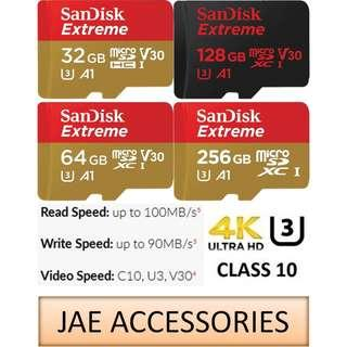 For Gopro Sandisk Extreme 4K A1 32GB-256GB microSD Card