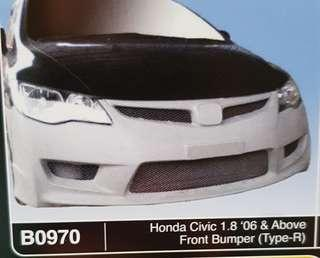 Honda Civic FD Type R front bumper