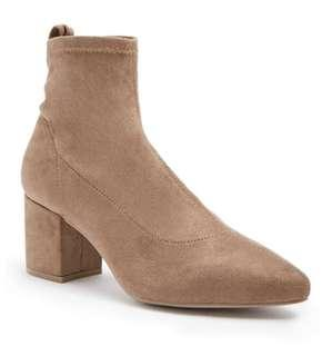 F21 Taupe Boots (used for photoshoot only)