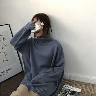 🚚 高領針織 毛衣