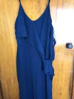 Navy Blue Jumpsuit Size 16