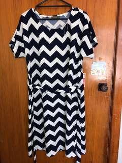 Navy Blue Dress Size XL