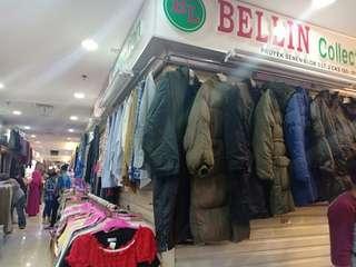 Jaket winter bulu angsa