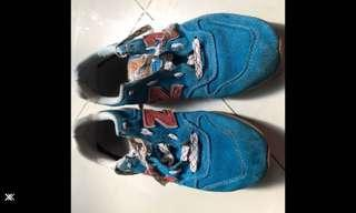 Authentic New Balance blue red size 42
