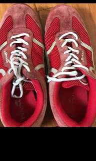 ellesse shoes red size 42 authentic