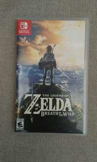 The Legend of Zelda Breath of the Wild(Nintendo Switch)