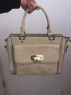 90% new leather bag